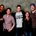 AREA - Stephen Amell, David Ramsey and Rob Amell - Star of Arrow and Flash (Arrow, Diggle and Firestorm)