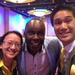 AREA with Bruny Surin (Olympic Gold Medalist)