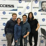 AREA with TJ Thyne and Michaela Conlin (Actors - Hodgins and Angela from BONES)