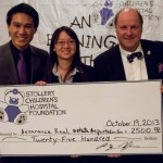 AREA - Children's Stollery Hopital Dinner Gala with Mike House