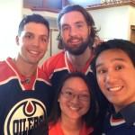AREA - David Perron & Luke Gazdic (NHL Stars)