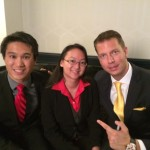 AREA - JT Foxx Backstage at Mega Partnering (Serial Entrepreneur)