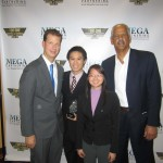 AREA - JT Foxx & Stedman Graham winning the Loyalty Award