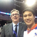 AREA - Jim Matheson (NHL Hall of Famer - Media Honoree - Canadian Sports Jouralist)