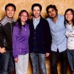 AREA - Simon Helberg & Kunal Nayyar (Star ofTV Series Big Bang Theory)